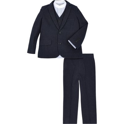 Monsoon Boys Albert 4 Piece Set, Blue
