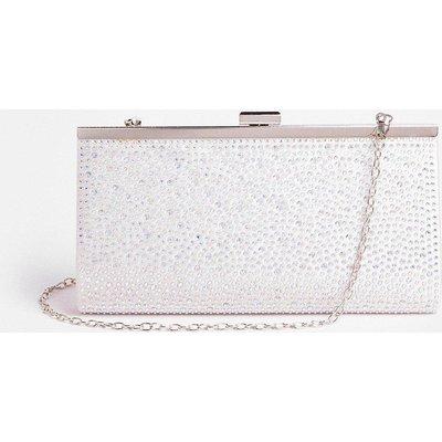 Coast Jewel Detail Clutch Bag -, Pink