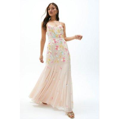 Coast Sequin Embellished Cami Dress -, Pink