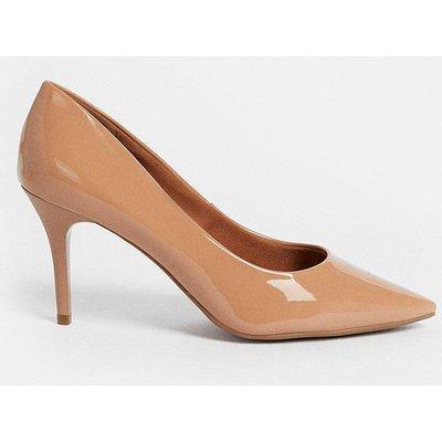Coast Patent Court Shoe -, Nude
