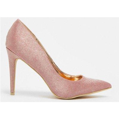 Coast Metallic Court Heels -, Pink