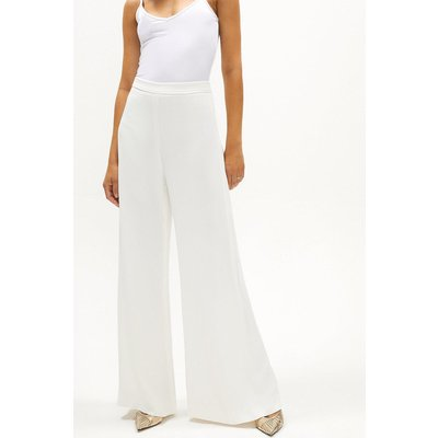Coast Premium Wide Leg Trouser Co-ord -, Ivory