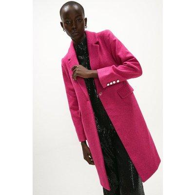 Coast Wool Mix Formal Coat -, Pink