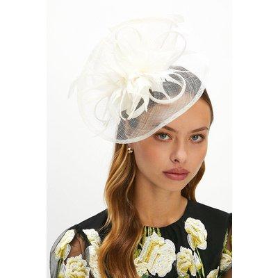Coast Premium Feather Hat Style Fascinator -, Ivory