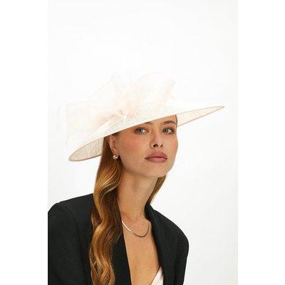 Coast Premium Organza Bow Hat Style Fascinator -, Pink