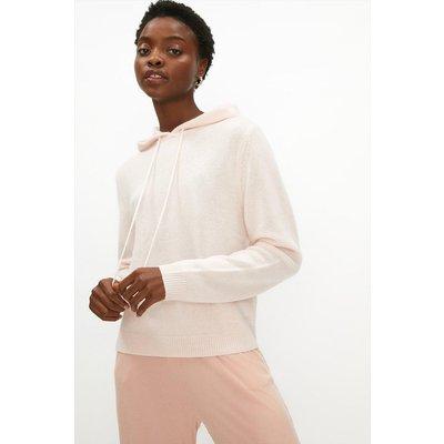 Coast Cashmere Hoody - Soft, Pink