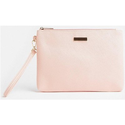 Coast Wrist Strap Clutch Bag -, Pink