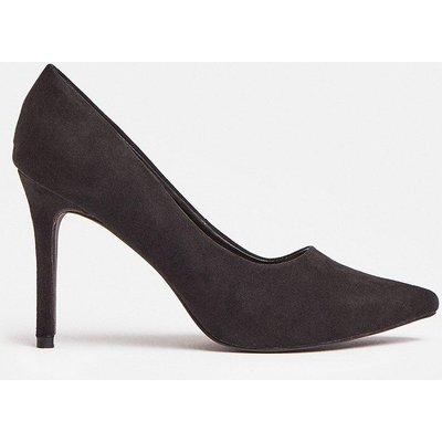 Coast Pointed Court Shoe -, Black