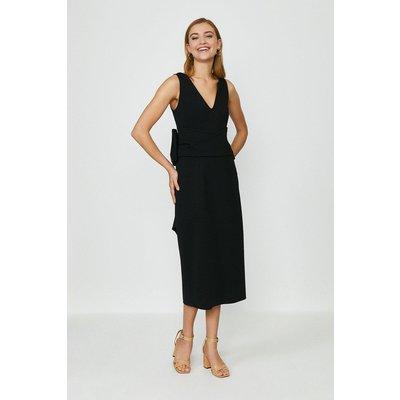 Coast Bow Back Dress, Black