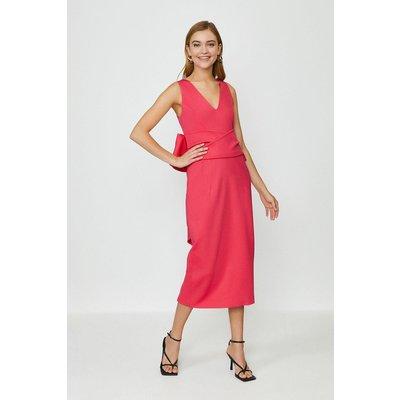 Coast Bow Back Dress, Pink