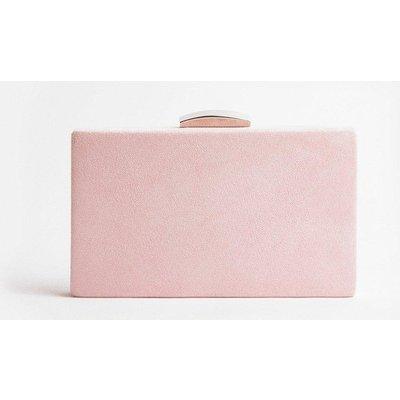 Coast Boxy Clutch Bag, Pink