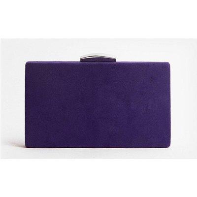 Coast Boxy Clutch Bag, Purple