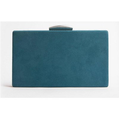 Coast Boxy Clutch Bag, Blue