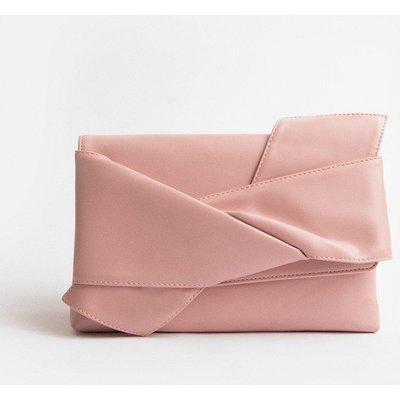 Coast Origami Clutch Bag, Pink