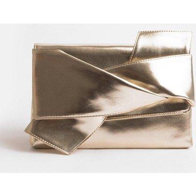 Coast Origami Clutch Bag, Gold