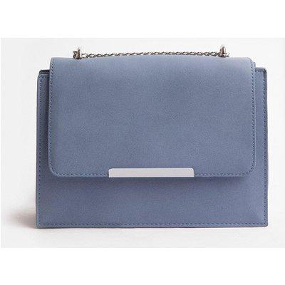 Coast Boxy Chain Detail Clutch Bag, Blue