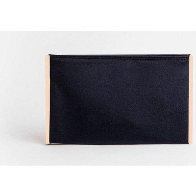 Coast Boxy Clutch Bag, Navy