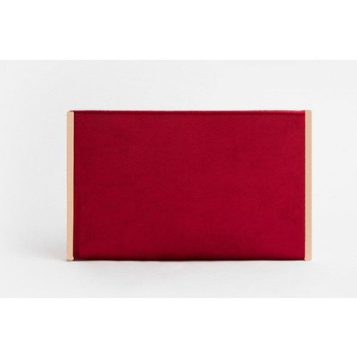 Coast Boxy Clutch Bag, Red