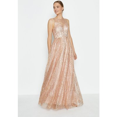 Coast Embellished Tulle Skirt Maxi Dress, Pink