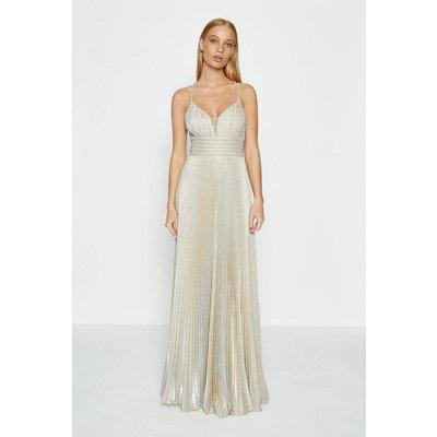 Coast Strap Detail Maxi Dress, Gold
