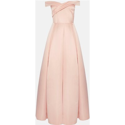 Coast Bandeau Full Skirt Maxi Dress -, Pink