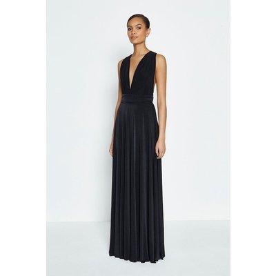 Coast Multiway Jersey Maxi Dress -, Black