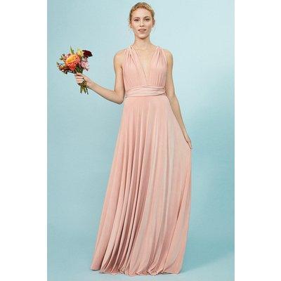 Coast Multiway Jersey Maxi Dress -, Pink