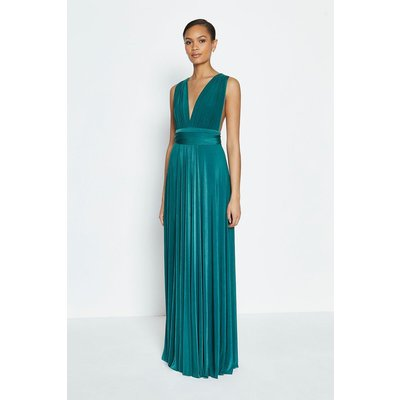 Coast Multiway Jersey Maxi Dress -, Green