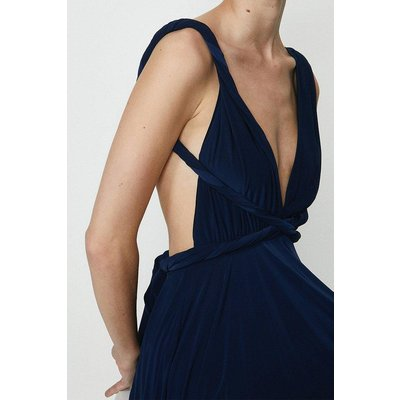 Coast Multiway Jersey Maxi Dress -, Navy