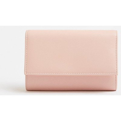Coast Acrylic Chain Clutch Bag, Pink