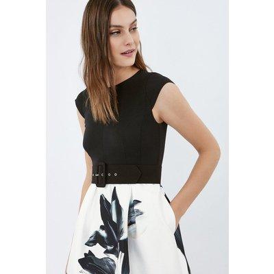 Floral Printed Skirt Dress Multi, Multi
