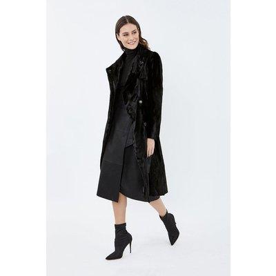 Pony Coat Black, Black