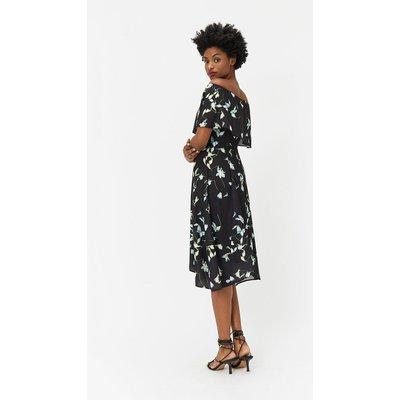 Plus Size Soft Bardot Dress Multi, Multi