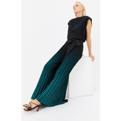Ombre Jumpsuit Blue, Blue/Teal/Green