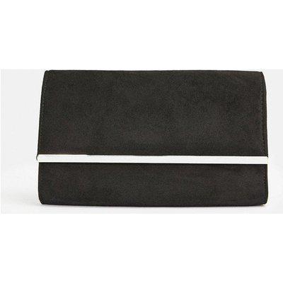 Coast Gold Bar Clutch Bag, Black
