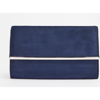 Coast Gold Bar Clutch Bag, Navy