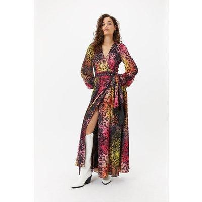 Rainbow Snakeskin Dress Multi, Multi