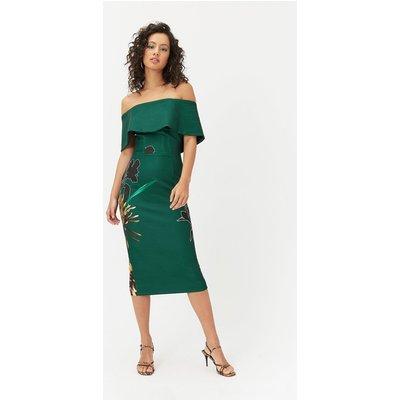 Bardot Midi Dress Multi, Multi