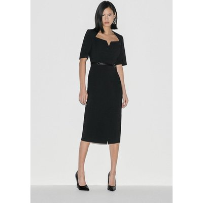 Karen Millen Italian Stretch Pencil Dress -, Black