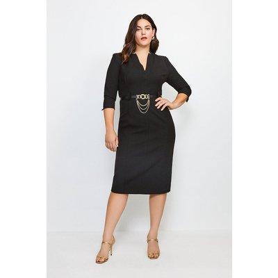 Karen Millen Curve Forever Dress -, Black