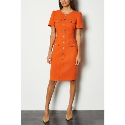 Karen Millen Utility Dress, Orange