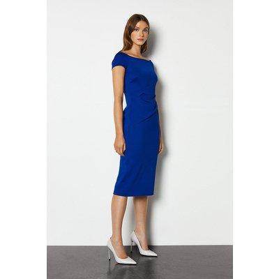 Highline Bardot Dress Blue, Blue