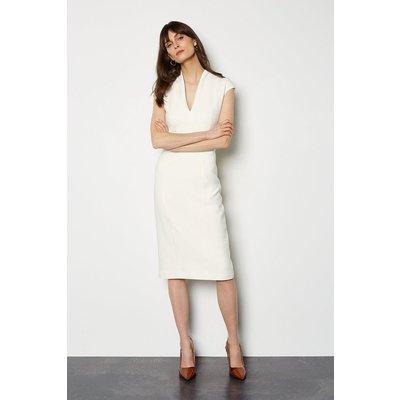 Pencil Dress Ivory, Ivory