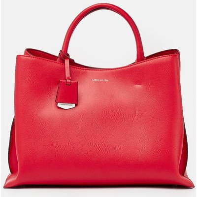 Simple Leather Grab Bag Lipstick, Red