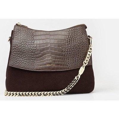 Regent Shoulder Bag Brown, Brown