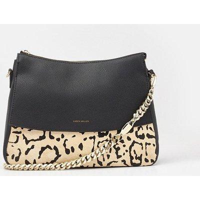 Regent Shoulder Bag Leopard, Leopard