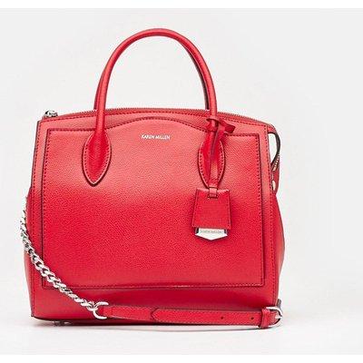 Karen Millen Mini Crossbody Bag, Red