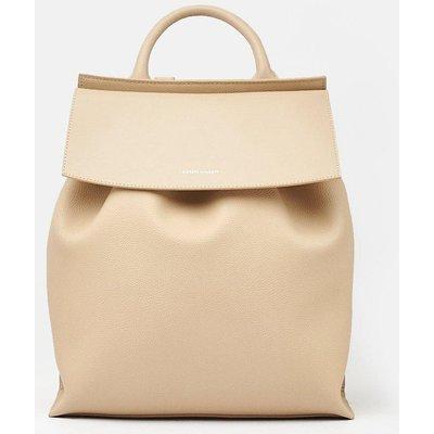 Karen Millen Leather Backpack, Natural