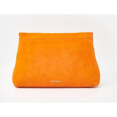 Karen Millen Brompton Clutch, Orange