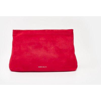 Karen Millen Brompton Clutch, Red